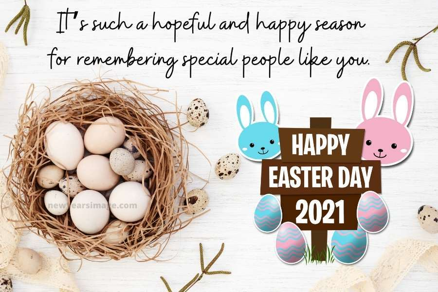Easter Wishes puzzle