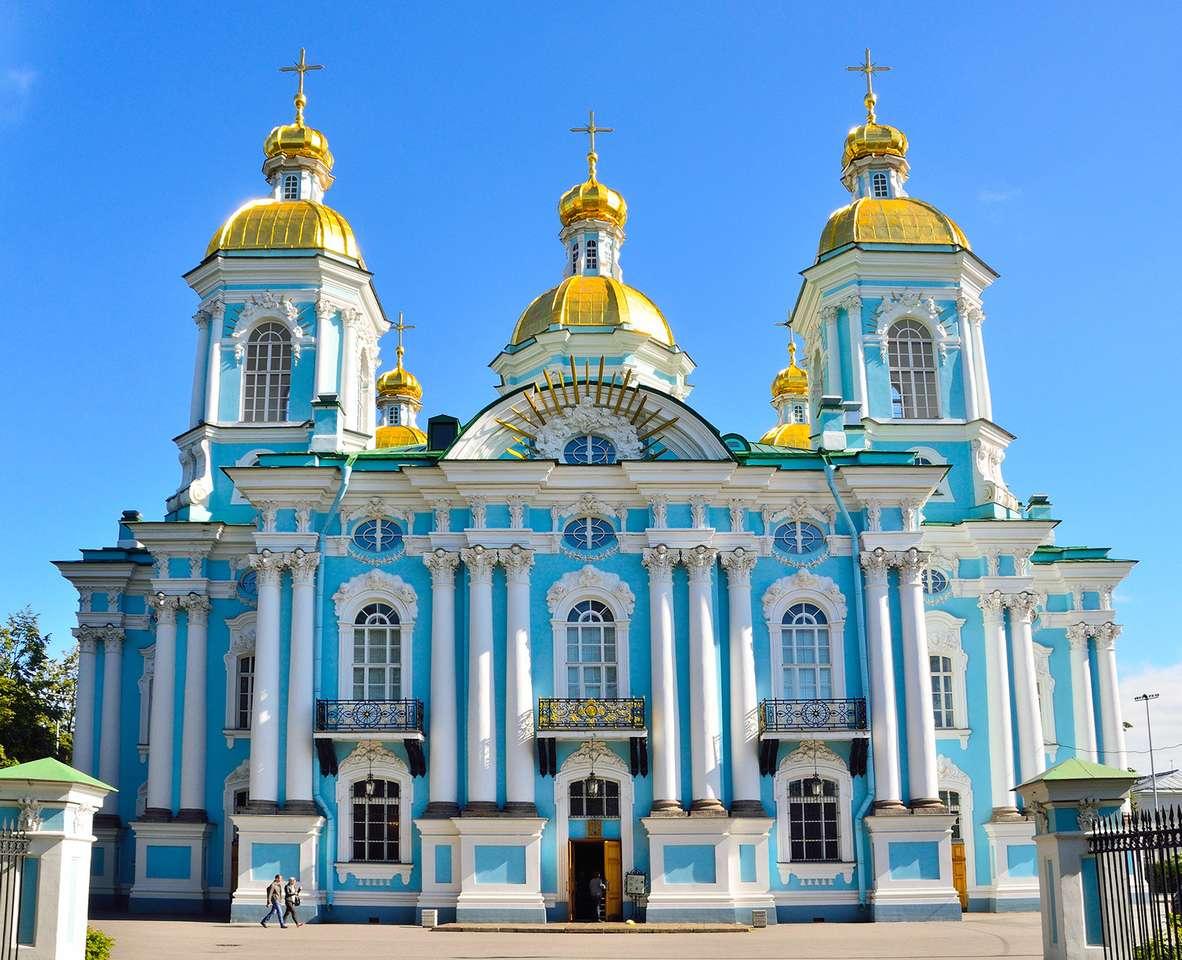 Αγία Πετρούπολη Αγία Πετρούπολη καθεδρικός ναός Ρωσία παζλ