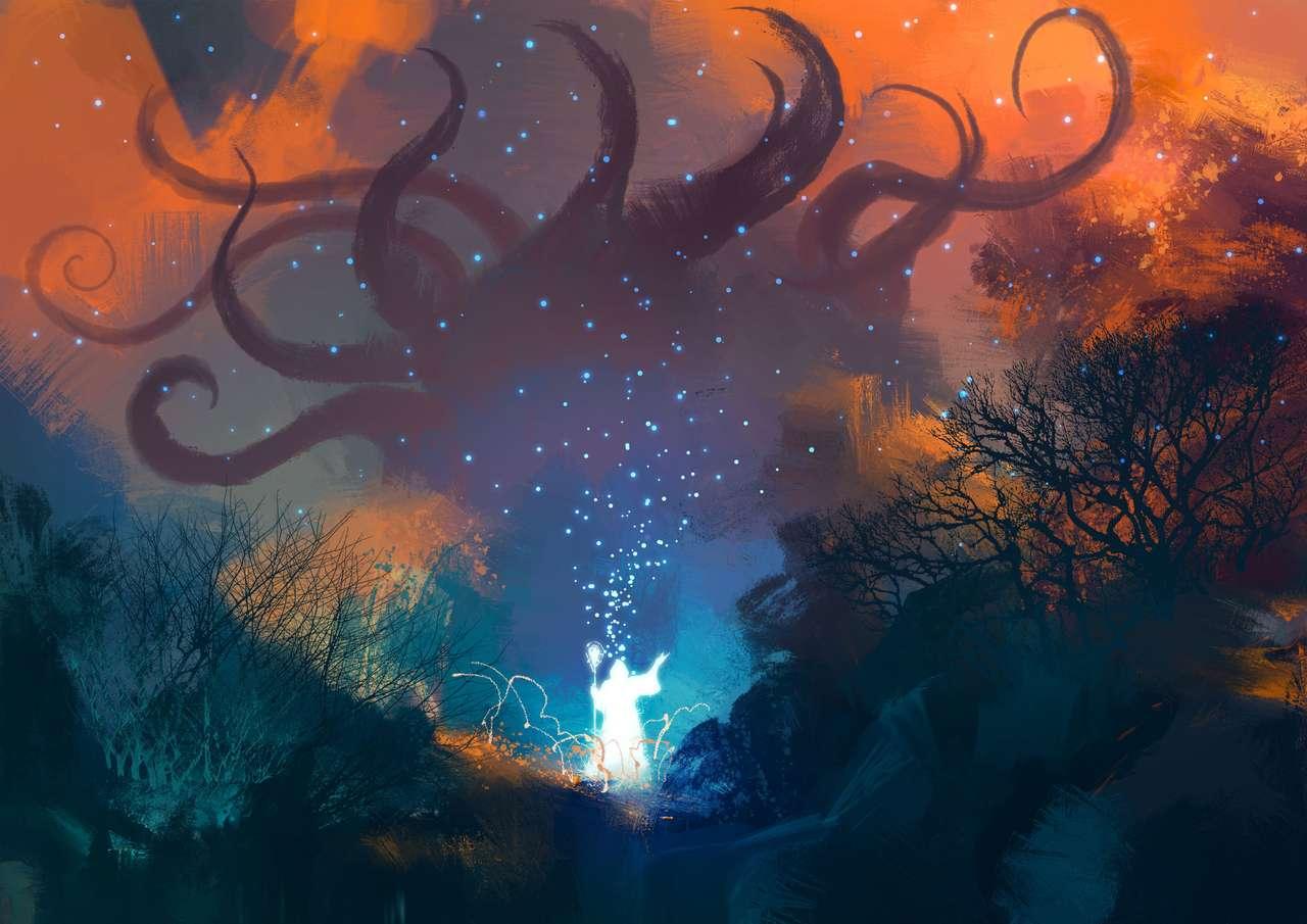 Магьосник през нощта