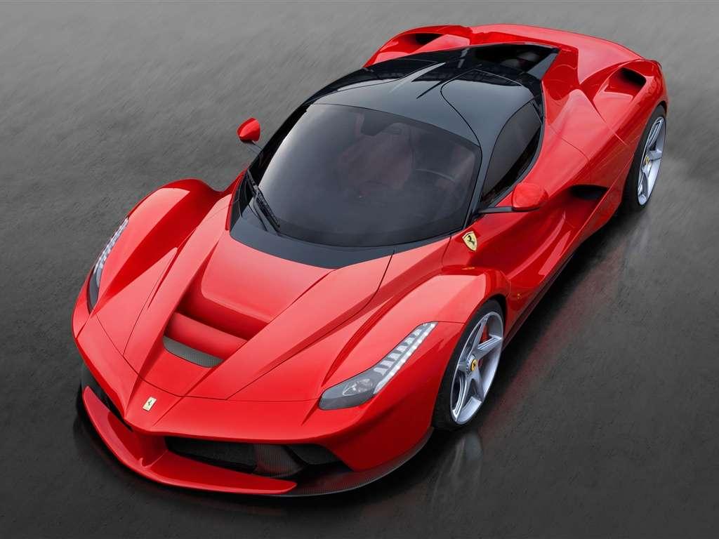 Ferrari im Ruhezustand