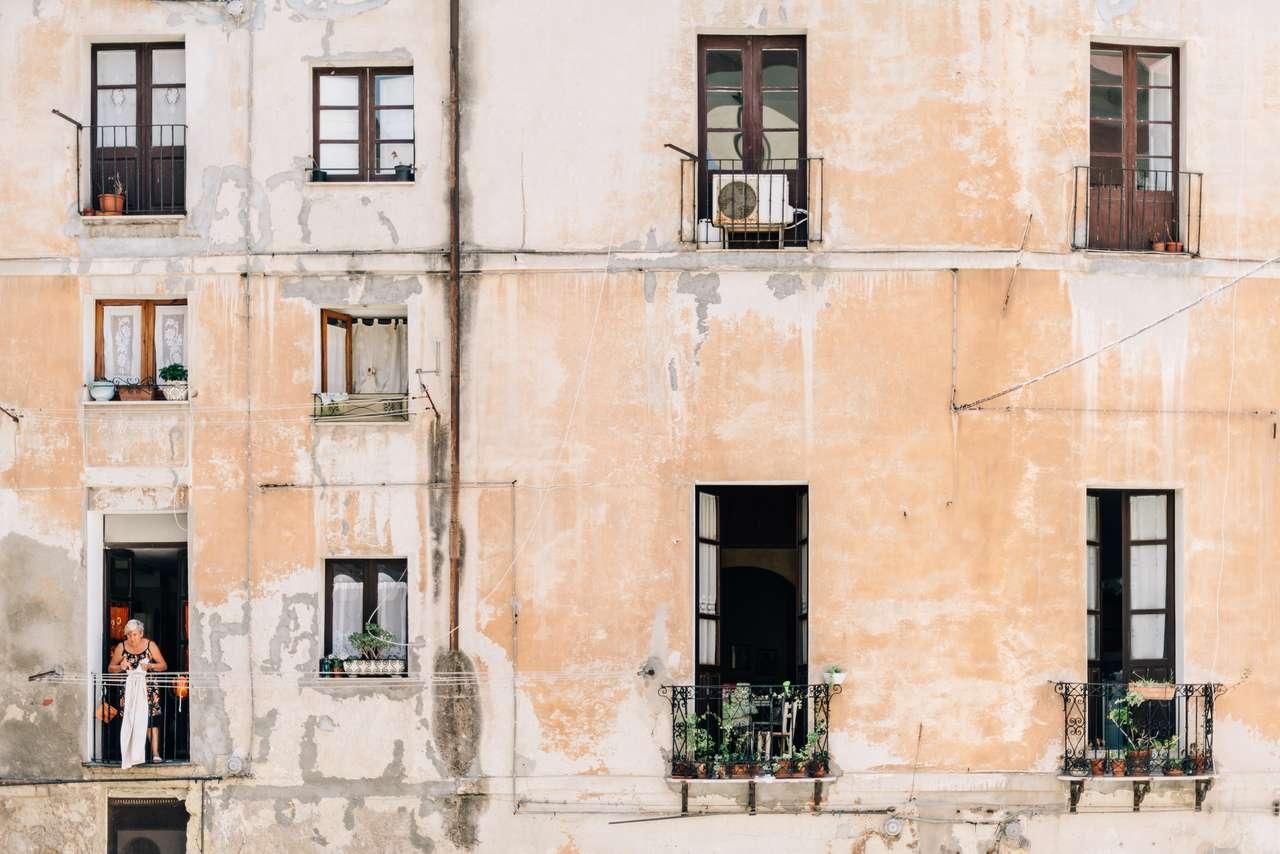 Cagliari - Sardinie. skládačka