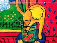 The Red Fish Cat 1914 van Henri Matisse