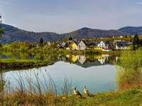 Una pequeña ciudad en el lago - Alemania