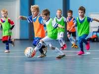 Sport im Kindergarten.