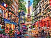 Kolorowy Paryż.