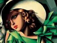 Mujer dorada de Tamara de Lempicka