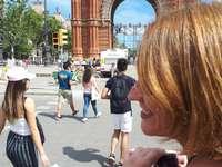 Barcelona Spanien Arc de Triumph