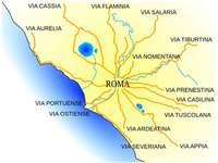 Róma térképe
