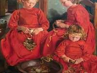 Tři Sestry Celé V Červeném