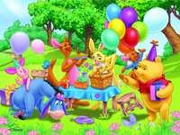 Winnie the Pooh és Kłapouche nap