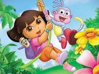 Dora vai encontrar o mundo