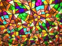 Mosaïque colorée