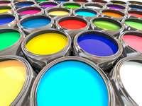 Πολύχρωμο χρώμα