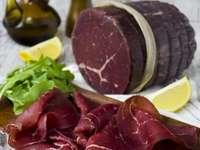 Bresaolanie carne de vită afumată