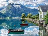 Oppstrin-Norwegen.