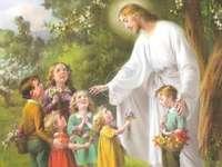 Heer Jezus en kinderen