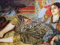 Femeie de Alger (1870) de către