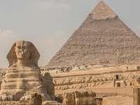 Giza pyramide et sphinx
