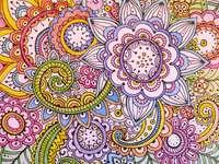 Drawn Mandalas.