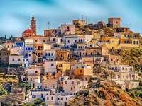 Griechisches Dorf.