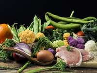 Verdure e frutta colorate