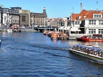 Amsterdam båttur