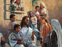 Lord Jesus and children