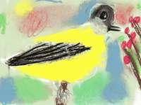 Sikora Bogatka pintou a mão