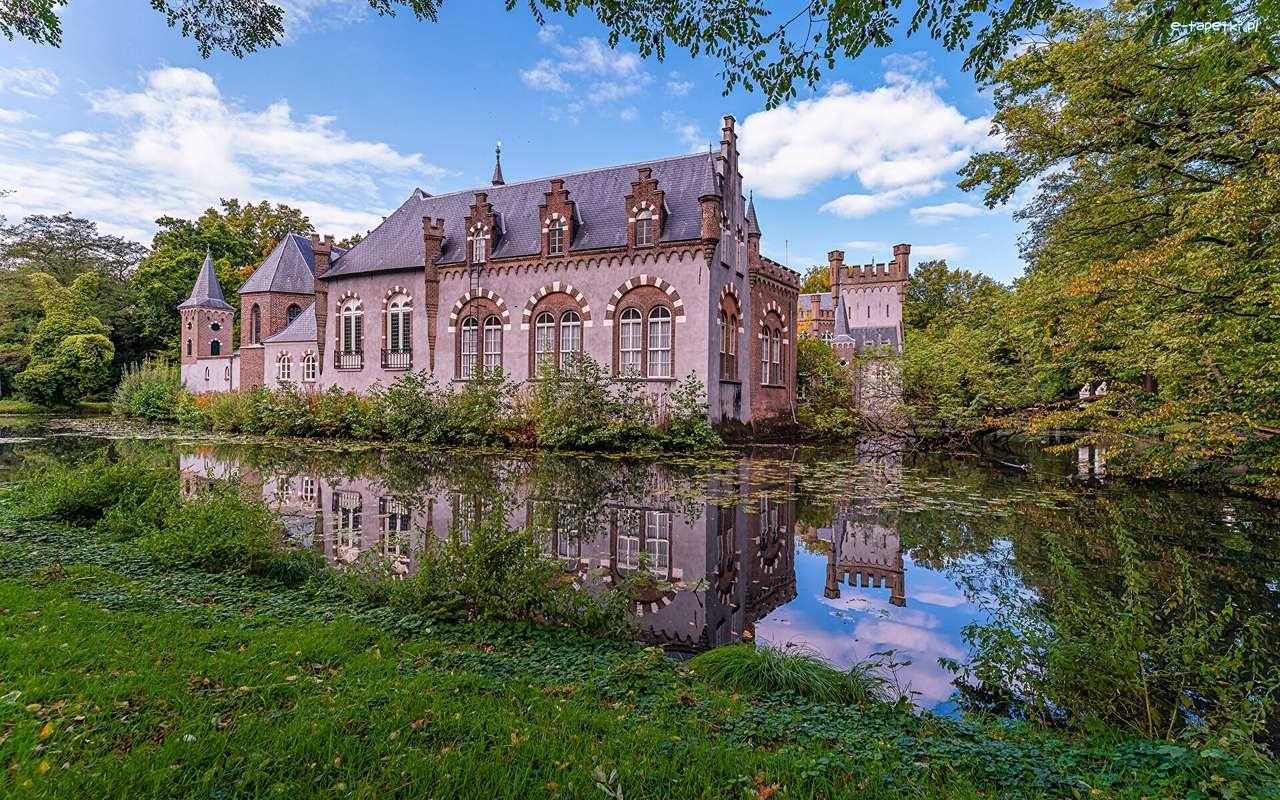 Una casa en la provincia de los Países Bajos.