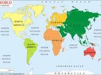 Kontinente und Ozeane