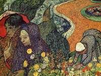 """""""Memory of the Garden of Eden"""" by Van Gogh"""