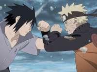 Naruto i Sasuke.