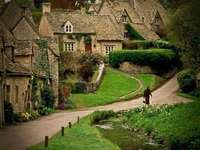 Dorf in England