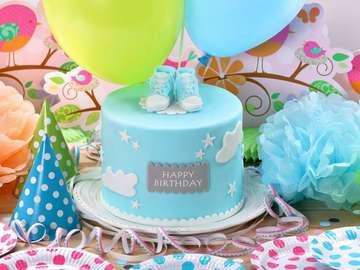 Verjaardagstaart voor een kind