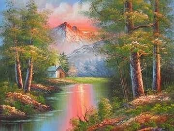 Магически пейзаж