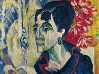 """""""Erna"""" of Ernst Kirchner (1880-1938)"""