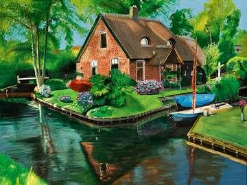Channel v Nizozemsku