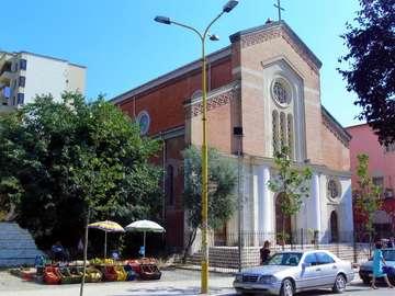 Tirana cabeza de albania