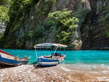 Пейзаж в Албания