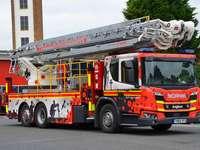 Humberside пожарен камион