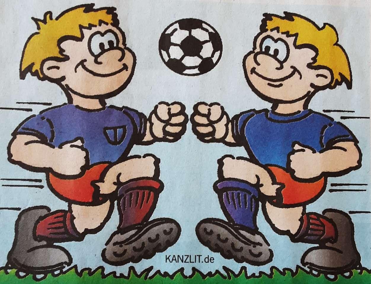 Két labdarúgó