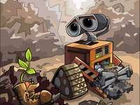 Wall-E e a planta