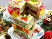 Έγχρωμο κέικ