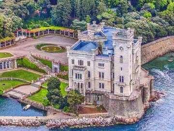 Castello Miramare Trieste Italy