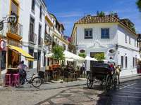 A street in Cordoba online puzzle