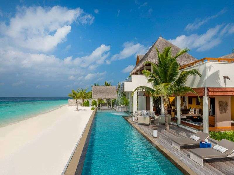 Hotel na Maledivech