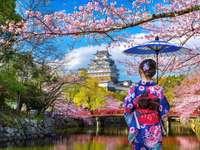 Fille au Japon