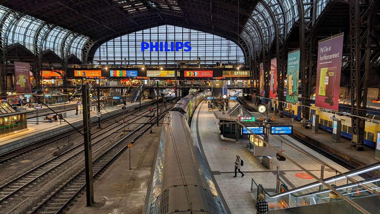 Hauptbahnhof - Hamburgo - Alemanha