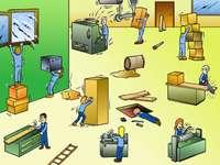 Ασφάλεια παζλ και υγεία στην εργασία