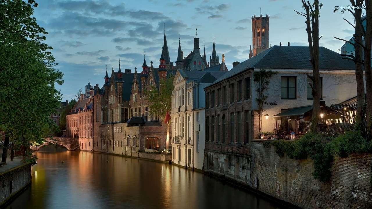 Vattenkanal i Belgien